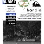 ACAMP Wakeboard du 22 au 29 août 2020